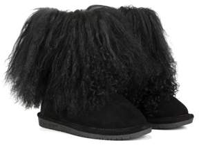 BearPaw Kid's Boo Fur Boot Pre/Grade School