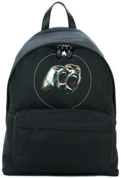 Givenchy baboon print backpack