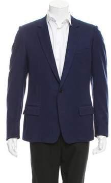 Christian Dior Virgin Wool Two-Button Blazer