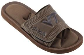 NCAA Men's Virginia Tech Hokies Memory Foam Slide Sandals