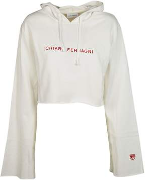 Chiara Ferragni Embroidered Logo Hoodie