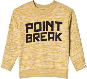 Molo Yellow Mellow Space Mattix Sweatshirt
