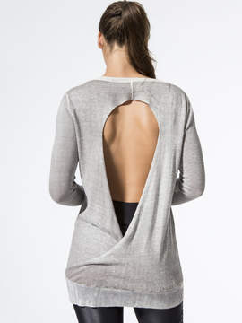 Blanc Noir Twist Sweater