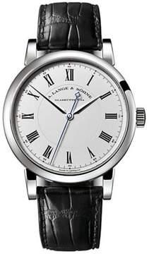 A. Lange & Söhne A. Lange and Sohne Richard Lange 232.025 Platinum Silver Dial 40.5mm Mens Watch