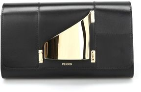 Perrin Paris L'eiffel Leather Clutch