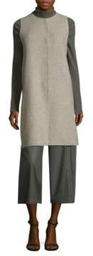 Eileen Fisher Brushed Roundneck Vest