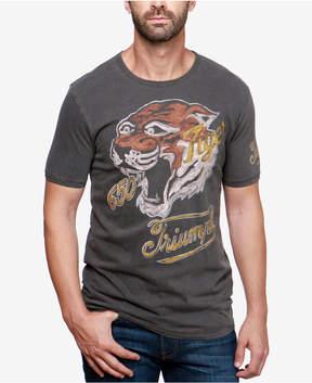 Lucky Brand Men's Tiger Print T-Shirt