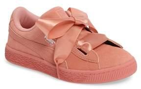 Puma Hearts Suede Sneaker (Toddler, Little Kid & Big Kid)