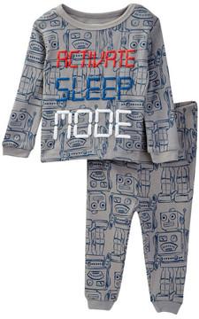 Joe Fresh Activate Sleep Mode Pajama Set (Baby Boys)