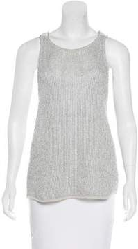 David Lerner Open Knit Sleeveless Top w/ Tags