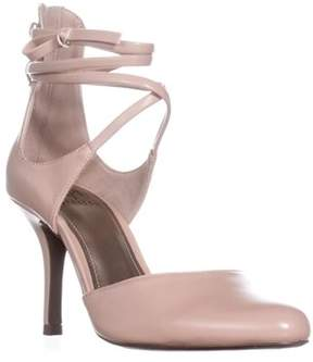 Impo Tennessee Stretch Tie Pump Heels , Buff.