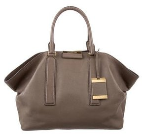 Michael Kors Large Lexi Satchel - BROWN - STYLE