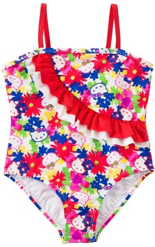 Hello Kitty Girls' Poppy Petal Ruffle One Piece (12mos24mos) - 8129634