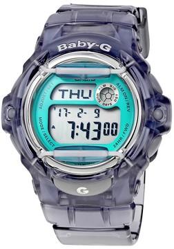 Casio Grey Transparent Resin Ladies Watch