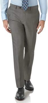 Charles Tyrwhitt Grey Slim Fit Italian Wool Luxury Suit Pants Size W38 L32