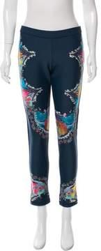 Cynthia Rowley Mid-Rise Neoprene Pants
