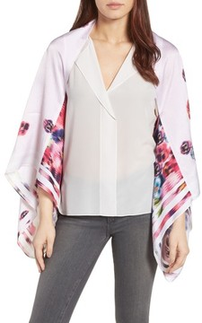 Ted Baker Women's Ellila Expressive Pansy Floral Cape Scarf