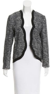 Vanessa Bruno Scalloped Tweed Jacket
