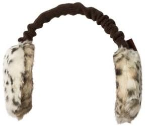 Barts Animal Print Faux Fur Earmuffs