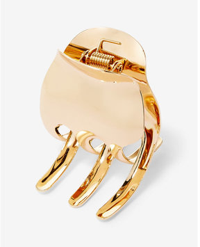 Express Kitsch Gold Large Claw Clip