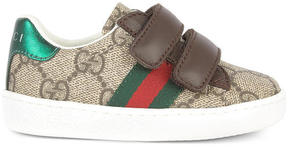 Gucci Monogram print velcro sneakers