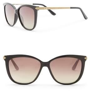 GUESS 57mm Square Sunglasses