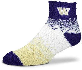For Bare Feet Washington Huskies Marquee Sleep Soft Socks