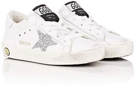 Golden Goose Deluxe Brand Kids' Superstar Leather Sneakers