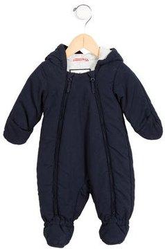 Petit Bateau Boys' Hooded Puffer Snowsuit