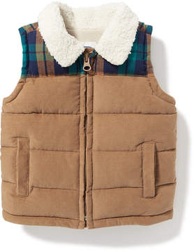Old Navy Sherpa-Collar Corduroy Vest for Baby