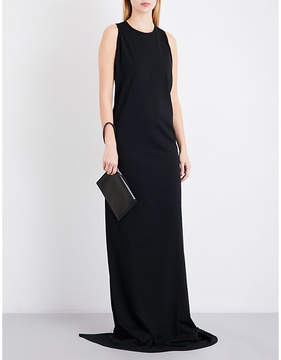 Drkshdw Sleeveless cotton-jersey gown