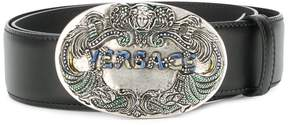 Versace medallion signature belt