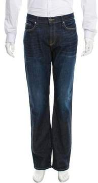 Frame Cropped Straight-Leg Jeans w/ Tags