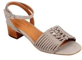 Corso Como Bahamas Cutout Leather Sandals