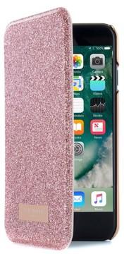 Ted Baker Glitsie Iphone 6/6S/7/8 Mirror Folio Case - Pink