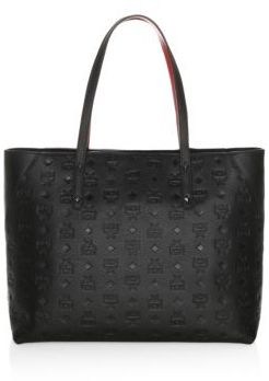 MCM Klara Leather Shopper