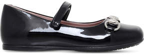 Gucci Lillian Mary Jane patent-leather shoes 2-4 years