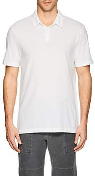 James Perse MEN'S PIQUÉ COTTON POLO SHIRT