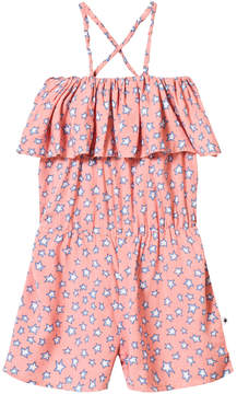 Molo Star Print Angelina Jumpsuit In Pink