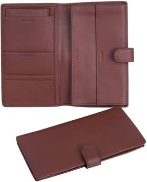 Royce Leather Deluxe Classic Passport Case