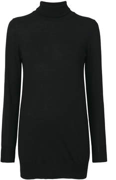 Le Tricot Perugia long-line roll neck sweater