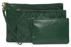 Hobo Triad Leather Pouch Set