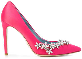Chiara Ferragni embellished pointed toe pumps