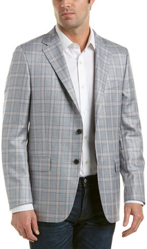 Hickey Freeman Wool Sportcoat
