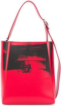 Calvin Klein x Andy Warhol Little Electric Chair tote bag