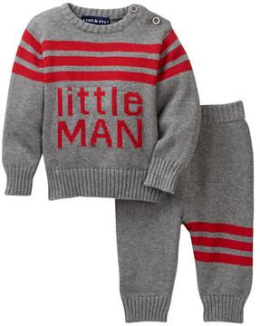 Andy & Evan Little Man Sweater Set (Baby Boys)