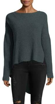 Brochu Walker Thandee Asymmetrical Hem Sweater