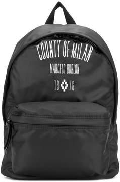 Marcelo Burlon County of Milan Jak backpack
