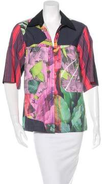 Clover Canyon Floral Short Sleeve Top