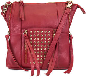 Kooba Red Eve Leather Crossbody Bag